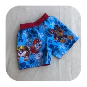 6/$15 18M Paw Patrol swim trunks
